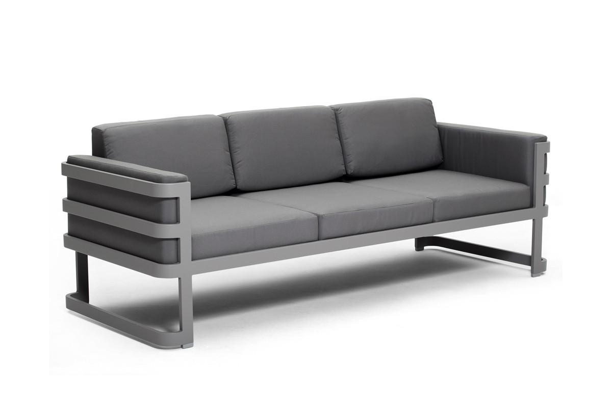 salon de jardin grand confort en r sine tress e la. Black Bedroom Furniture Sets. Home Design Ideas