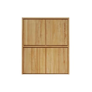lit chevet et commode des meubles en teck massif pour. Black Bedroom Furniture Sets. Home Design Ideas