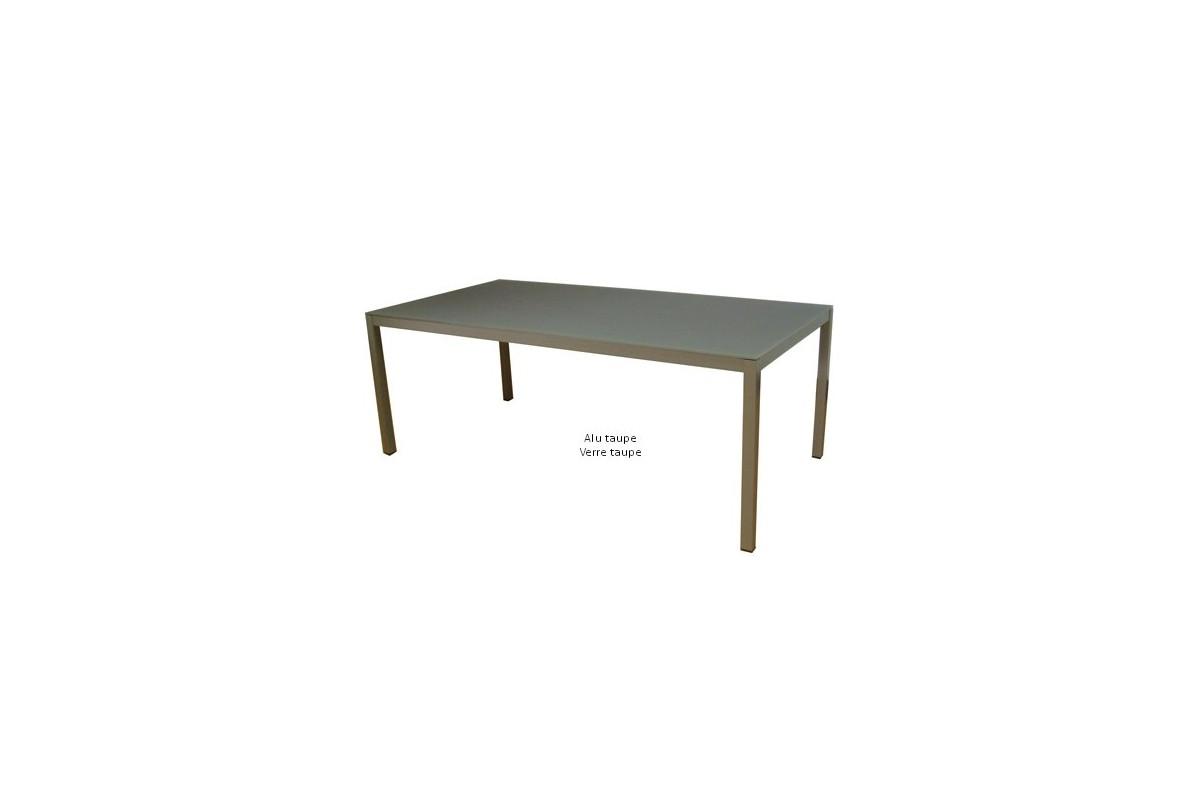 Table De Jardin Aluminium Carree Des Id Es