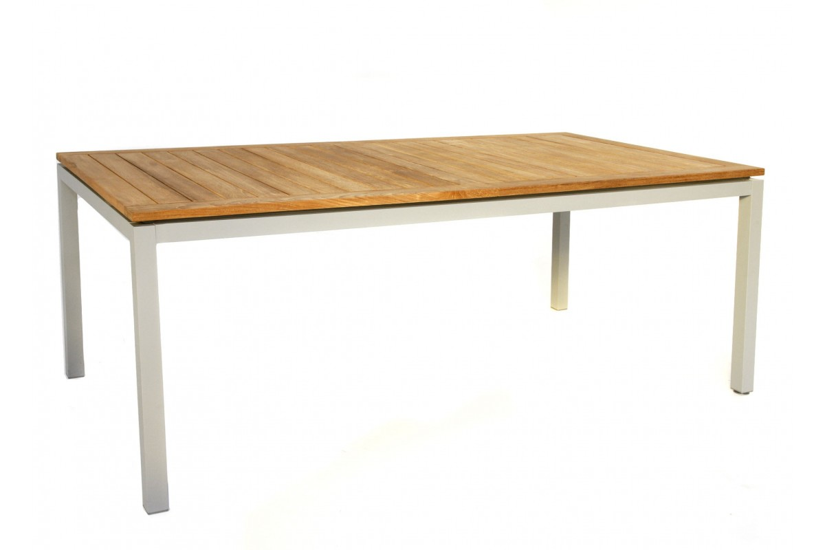 Table de jardin teck alu des id es int ressantes pour la conc - Table de jardin c discount ...