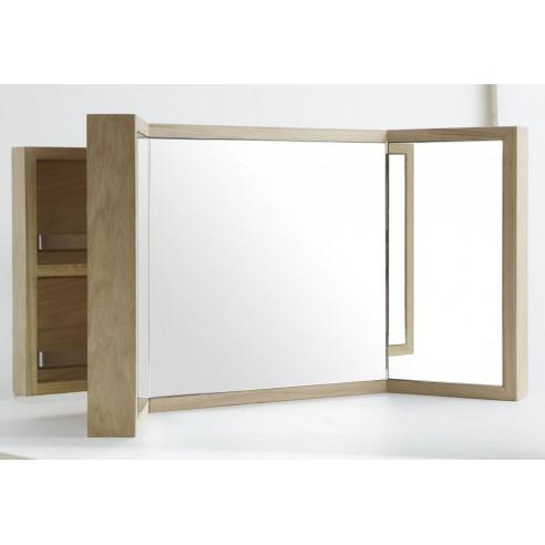 Best miroir teck salle de bain gallery for Miroir 90x70