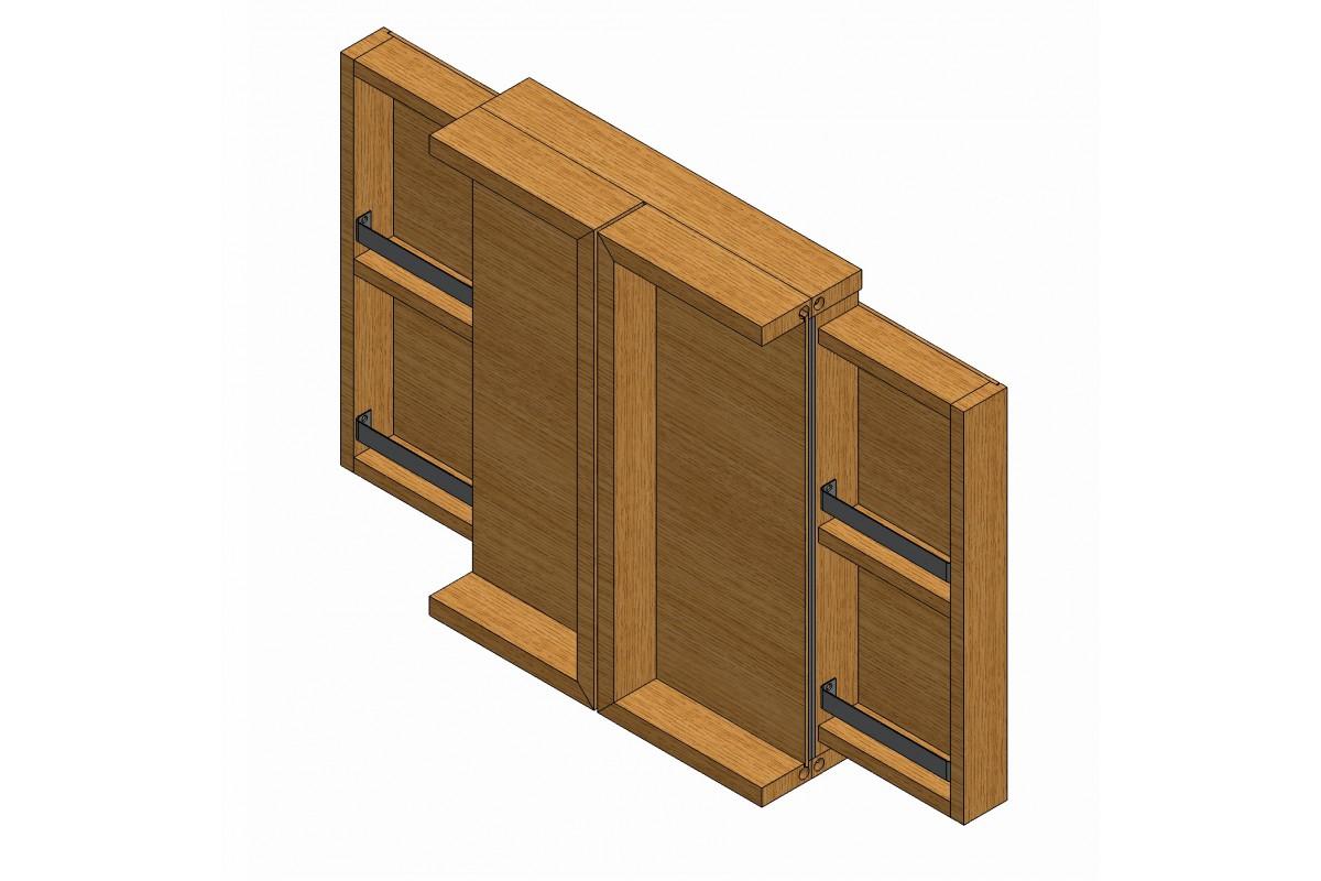 Banc Salle De Bain Teck : La salle de bain > Miroir salle de bain en bois, teck et chêne …