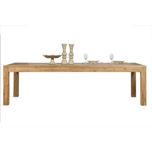 table en teck massif ancien grande longueur hera la galerie du teck. Black Bedroom Furniture Sets. Home Design Ideas