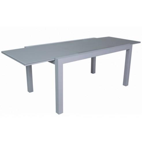 Table de jardin avec rallonge plateau en verre jsscene for Plateau pour table de jardin
