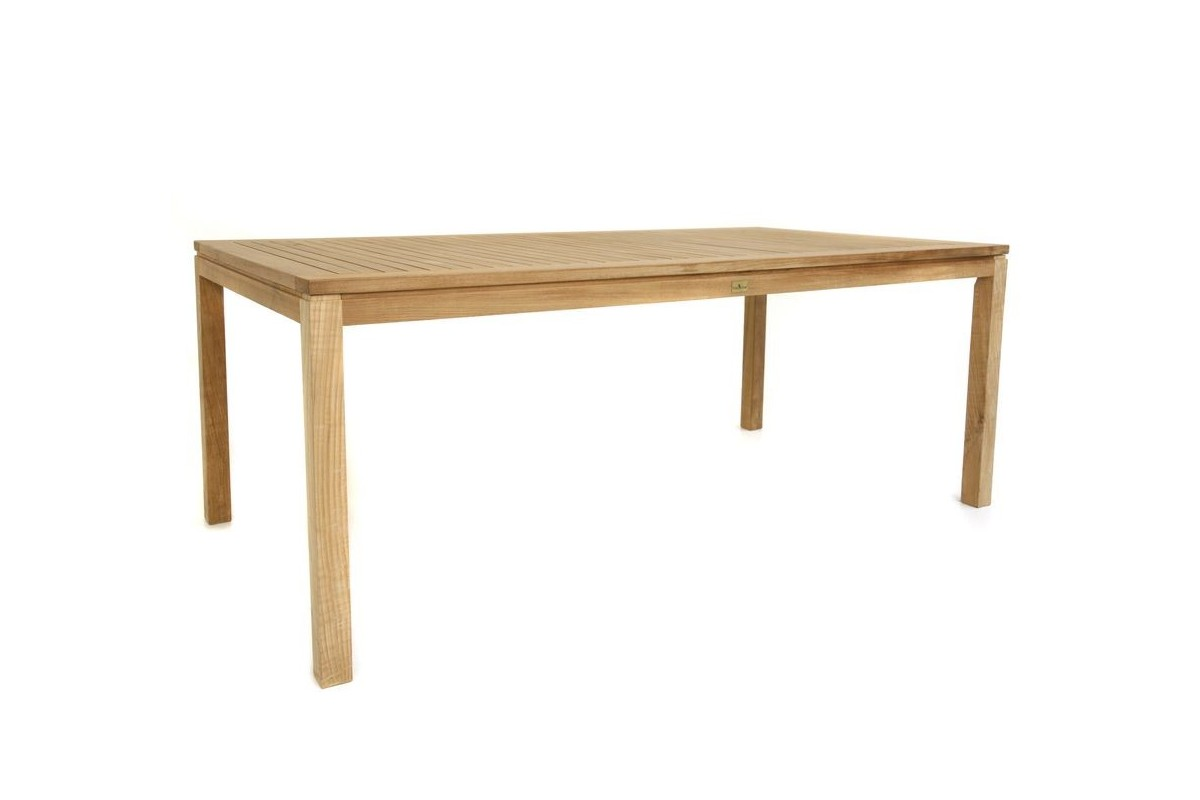 Table de jardin teck massif des id es for Tables de jardin en teck