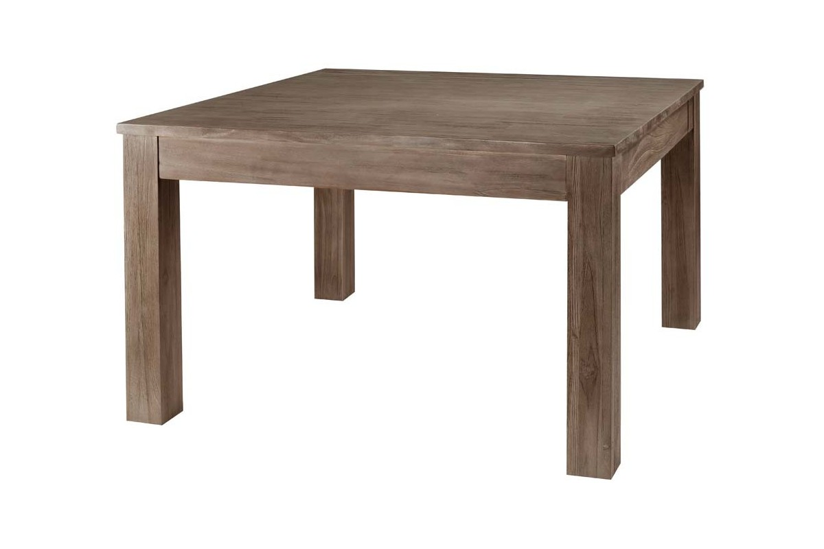 Table carree 120 avec rallonges maison design for Table carree avec rallonge