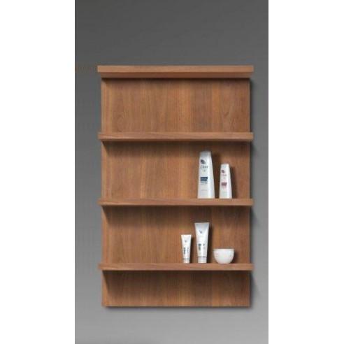 etag re suspendue en teck massif recycl loungea la. Black Bedroom Furniture Sets. Home Design Ideas