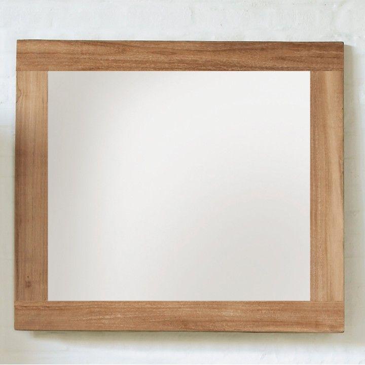 Miroir en teck massif by Line Art