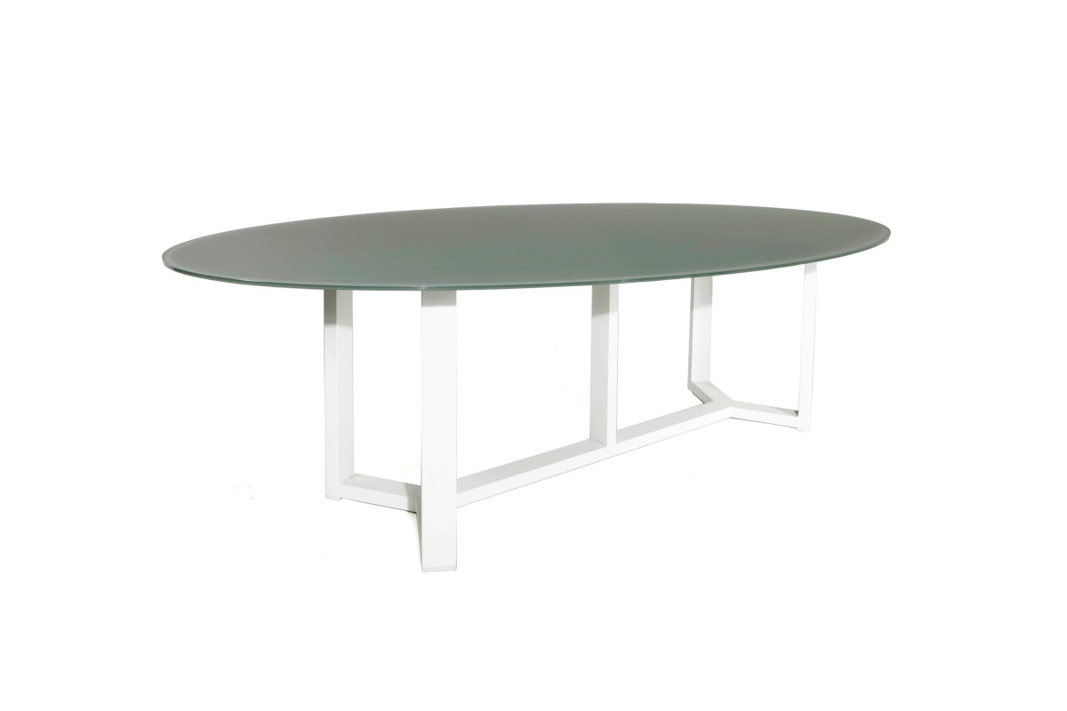Stunning Grande Table De Jardin Ovale Contemporary - Design Trends
