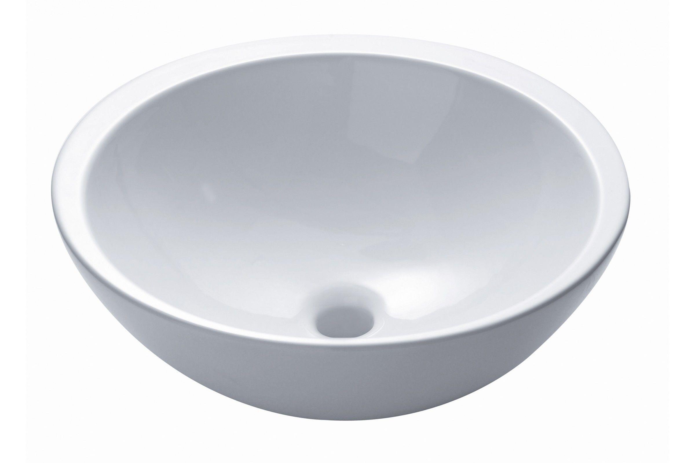 vasque poser ronde 47 cm en c ramique mod le soleil single. Black Bedroom Furniture Sets. Home Design Ideas
