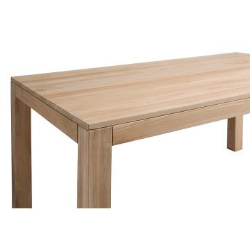 Table repas rectangulaire en teck massif de plantation, Gamme Exquise