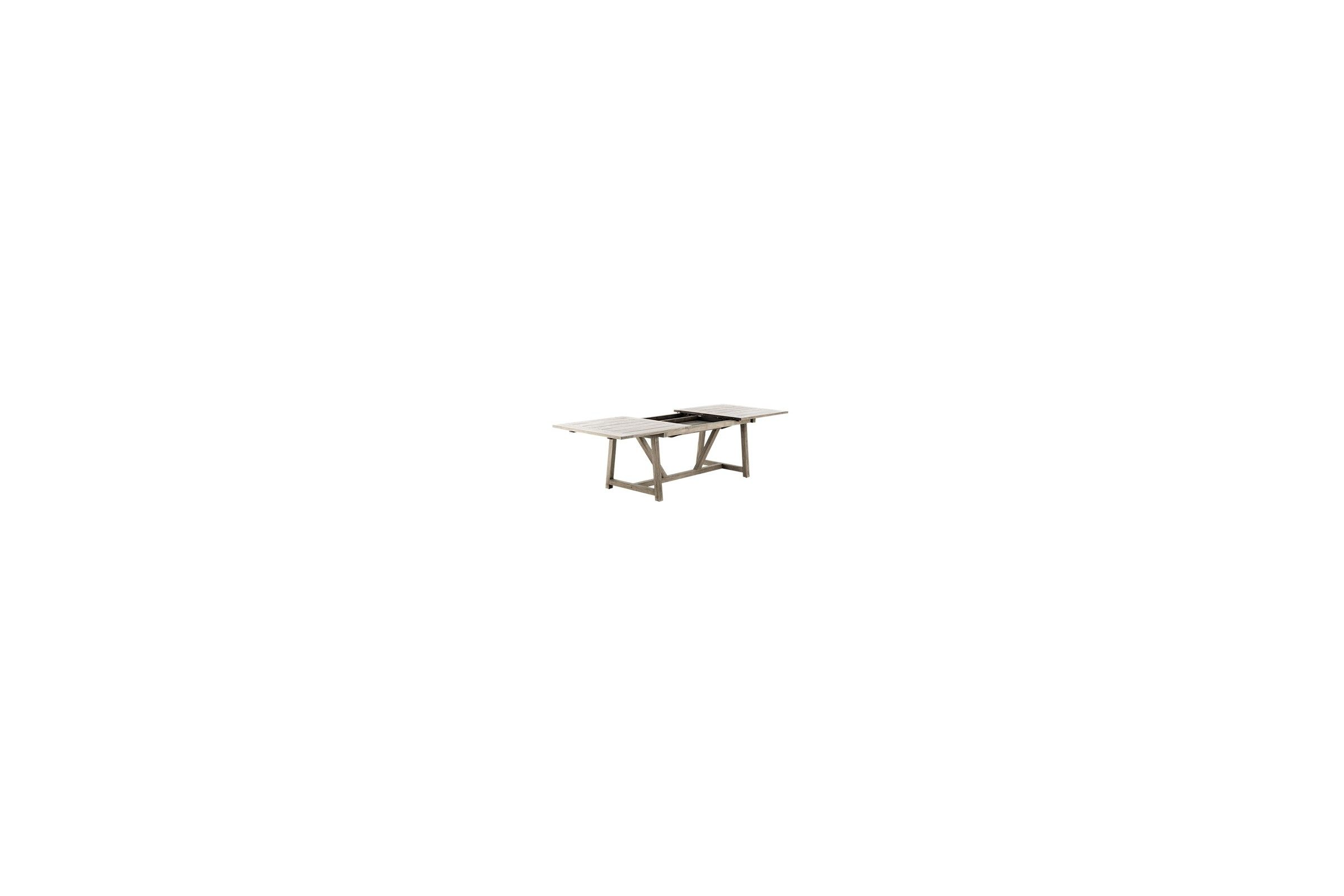 Beautiful table de jardin avec rallonge suisse photos - Table jardin aluminium avec rallonge ...