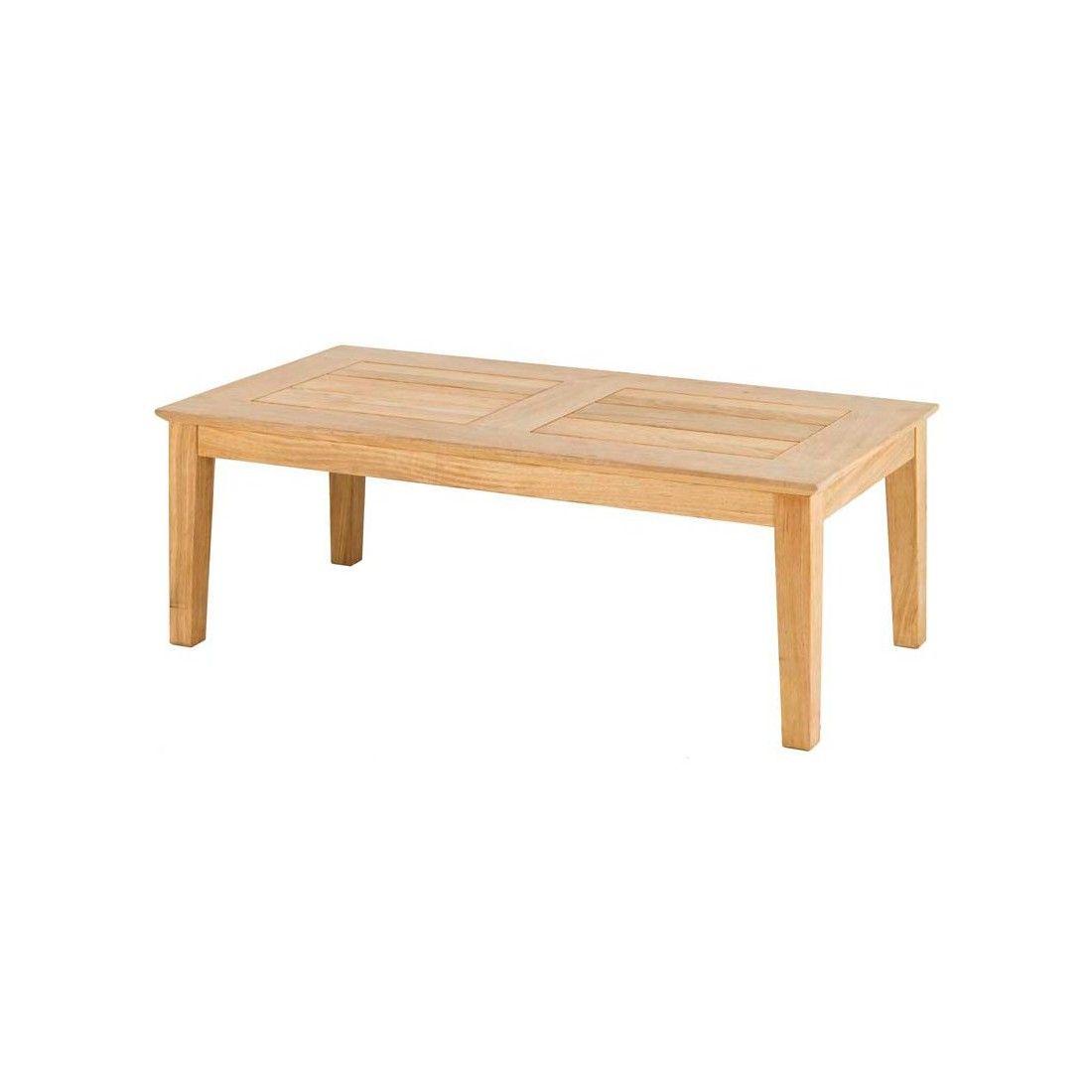 Table basse en bois pour salon de jardin haut de gamme
