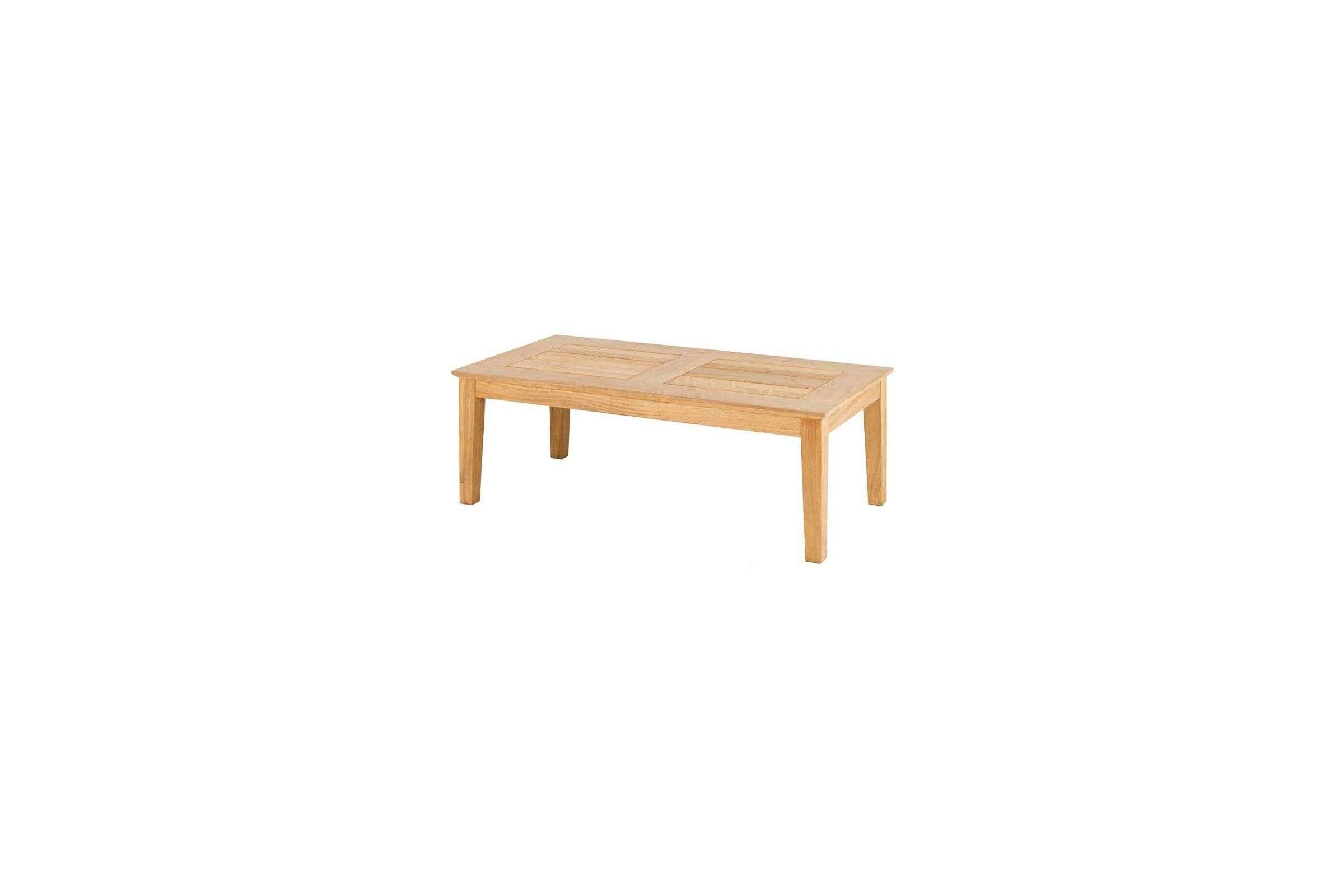 Table basse en bois pour salon de jardin 120 cm haut de for Table de salon en bois