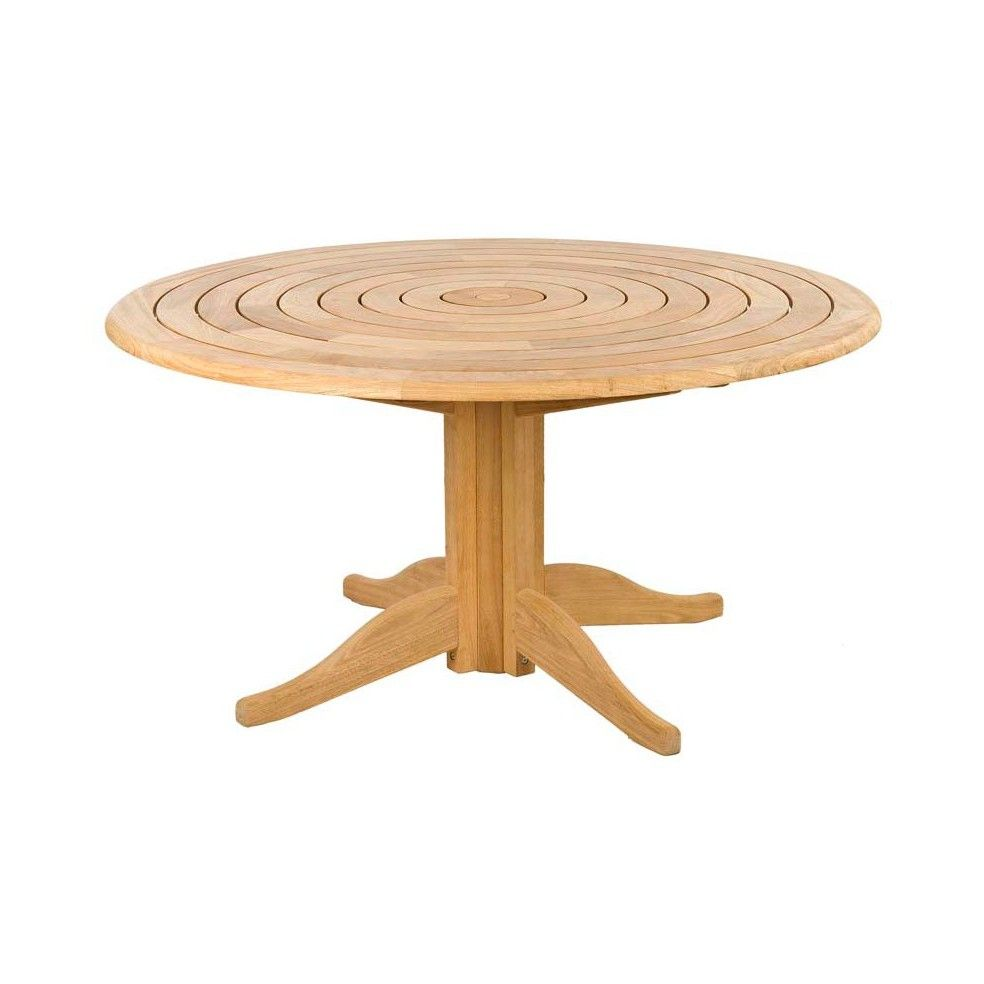 Emejing table de jardin en bois ronde images awesome - Table jardin en bois ...