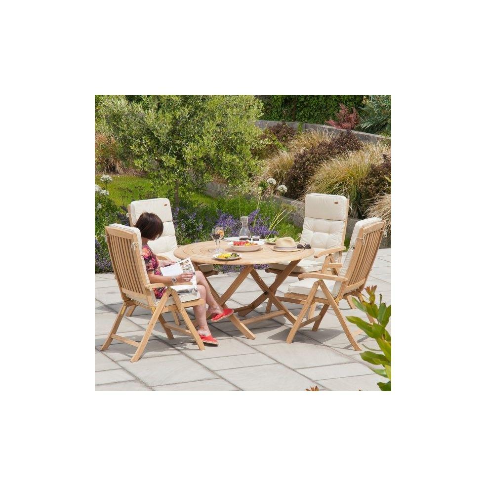 Awesome Table De Jardin Ronde Haut De Gamme Pictures - Amazing ...