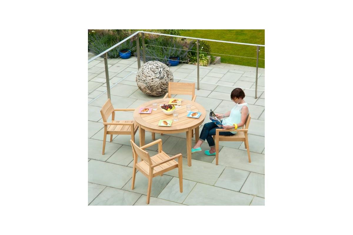 Table Jardin Teck Haut De Gamme ~ Jsscenecom  Des idées intéressantes pour  -> Table Tele En Bois Haut De Gamme