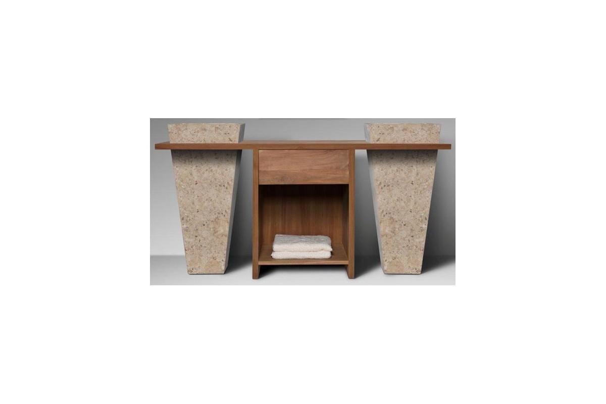 Tablette salle de bain avec tiroir meilleure inspiration for Meuble salle de bain quebec