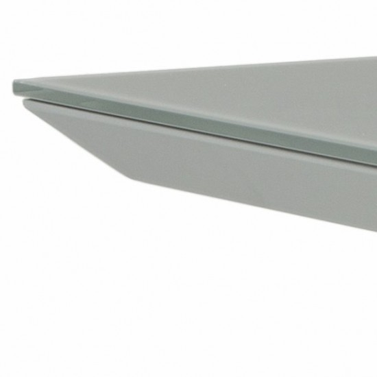 Table de jardin en verre et aluminium, VERS