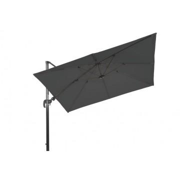 Parasol en alu 300 x 300 cm basculable, modèle Reno