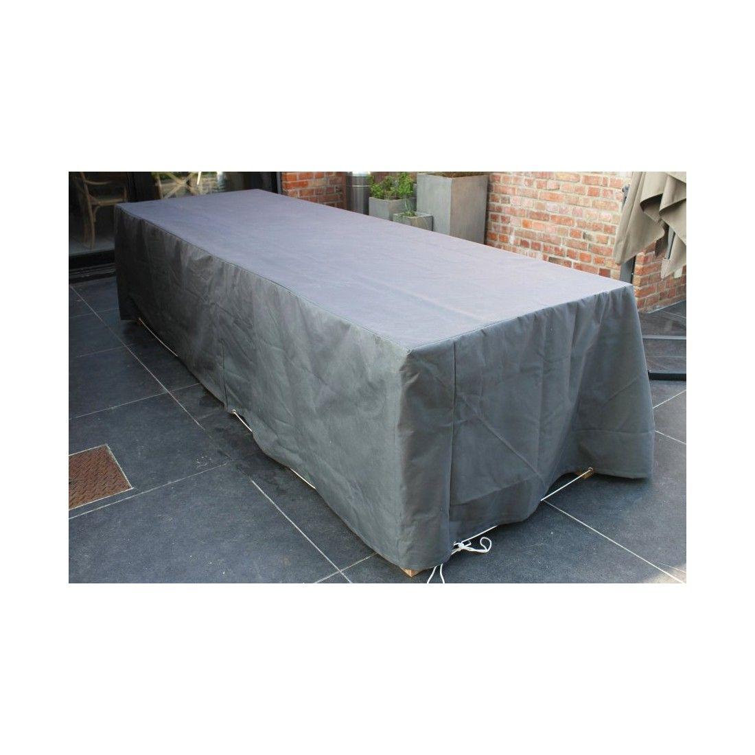 Bache de protection pour table et chaises 300*120 cm