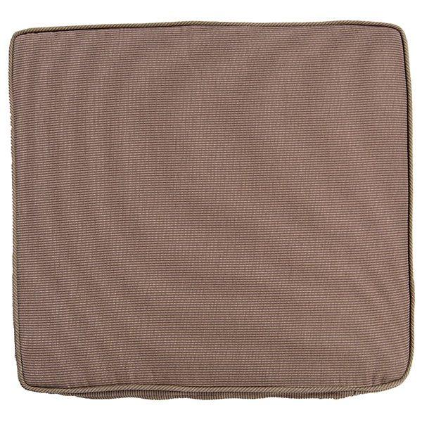 Coussin de chaise pliante 40x45 cm, déhoussable