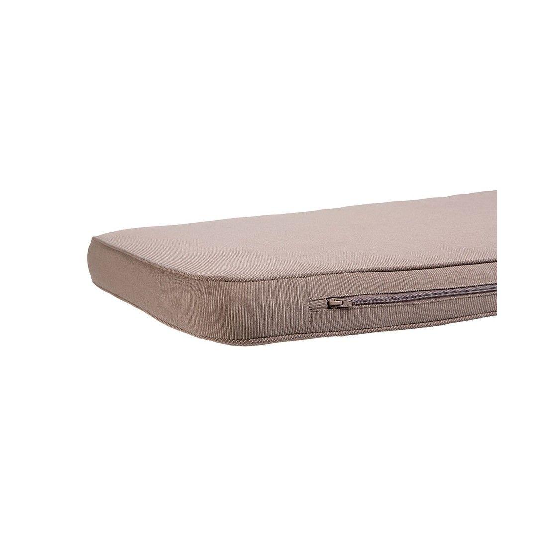 Coussin de banc 180 cm, en tissu et déhoussable