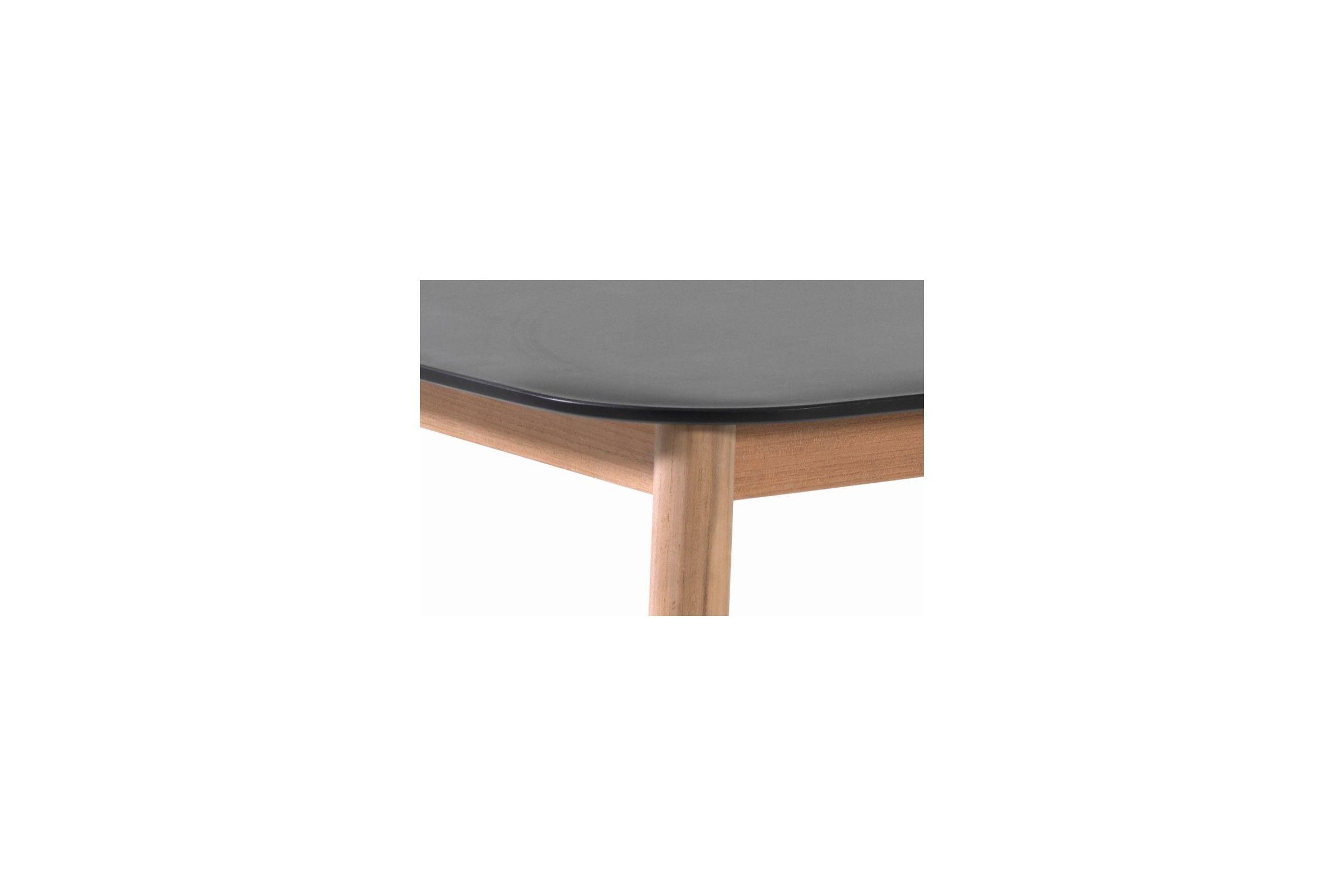 Table de jardin 213x100 cm avec plateau en Duranite® et ...