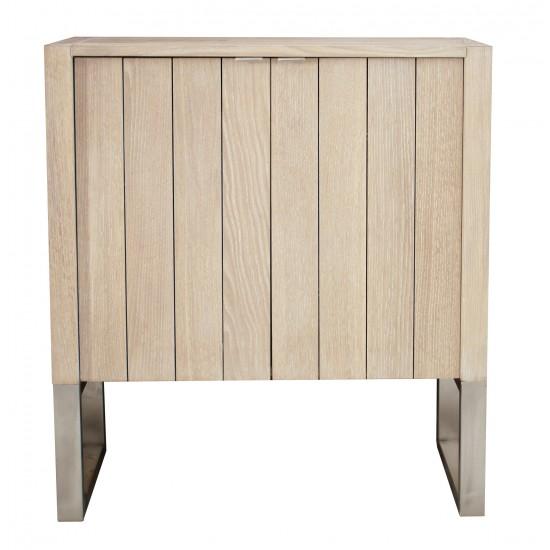 Meuble 1 vasque chêne massif / 2 portes, gamme Edition