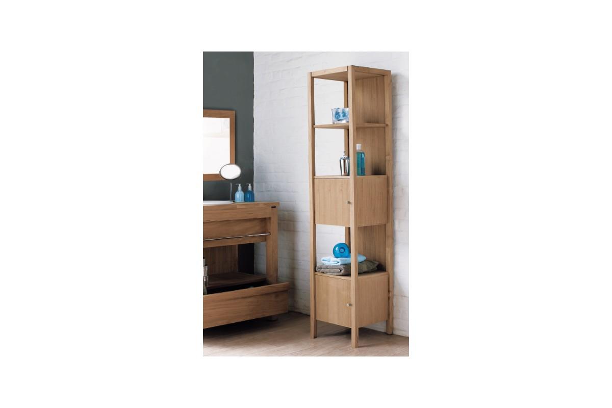 stunning colonne portes tagre en teck massif line art with destockage meuble teck. Black Bedroom Furniture Sets. Home Design Ideas