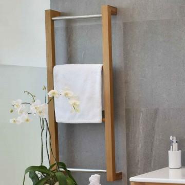 accessoires de salle de bains en teck porte serviette banc et bac linge la galerie du teck. Black Bedroom Furniture Sets. Home Design Ideas