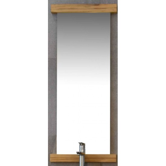 Miroir en teck 120 cm