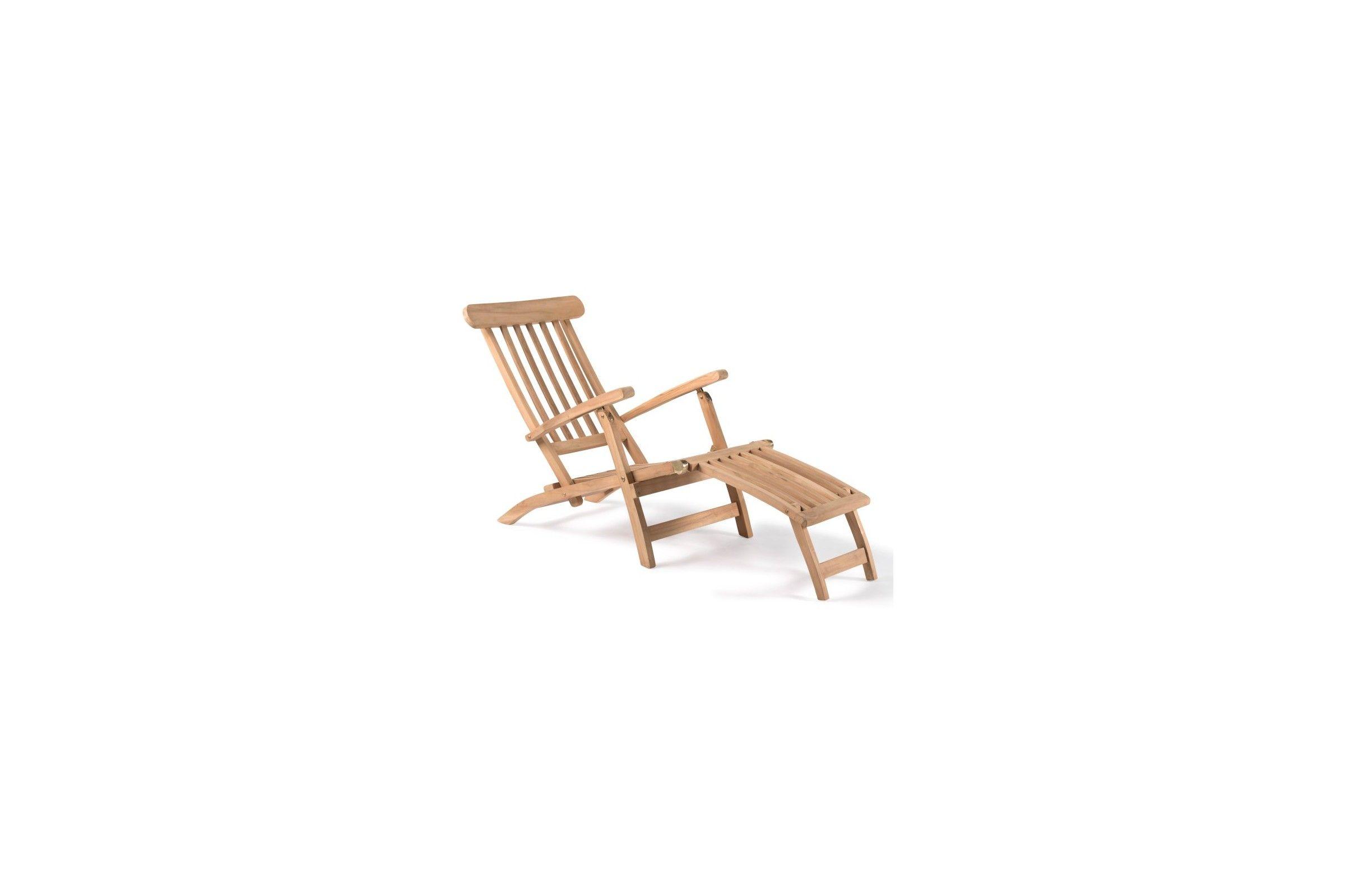 Chaise longue en teck trendy chaise longue en teck for Chaise pliante castorama