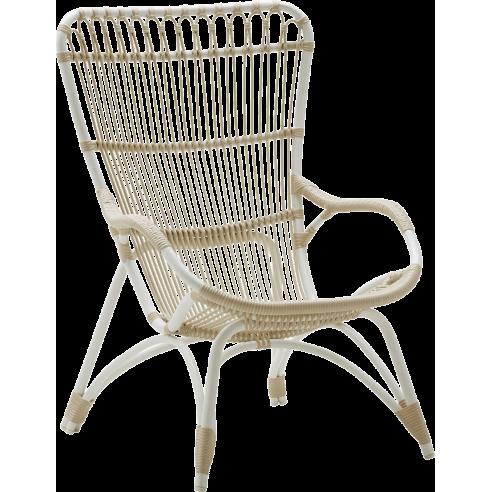 fauteuil de jardin en alu rotin sp cial ext rieur monet de sika design la galerie du teck. Black Bedroom Furniture Sets. Home Design Ideas
