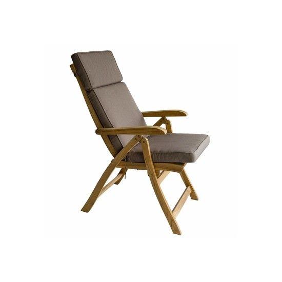 Coussin de chaise réglable, déhoussable