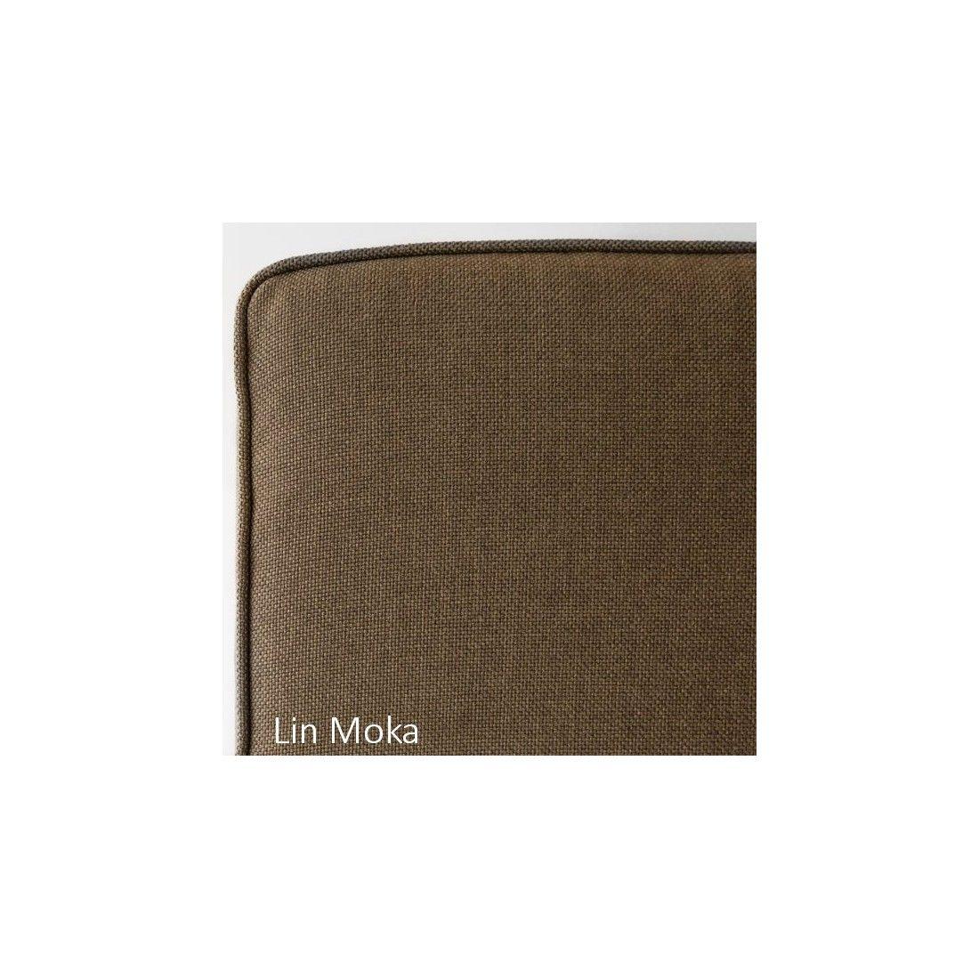 Coussin de banc 150 cm, en tissu et déhoussable