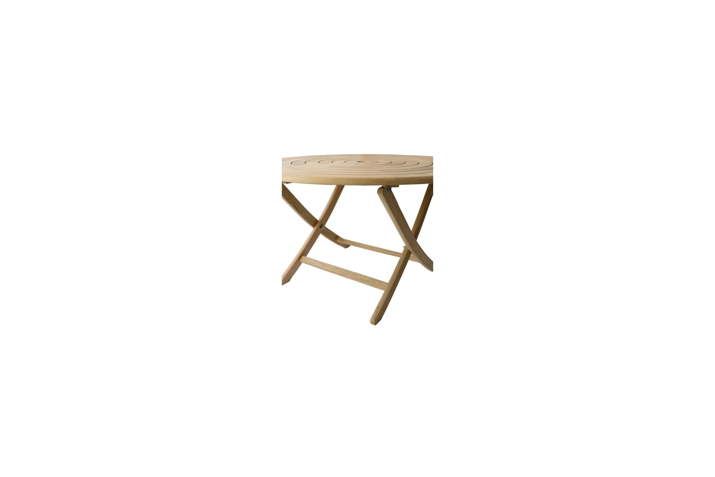 table de jardin pliante et ronde 130 cm en bois massif haut de gamme. Black Bedroom Furniture Sets. Home Design Ideas