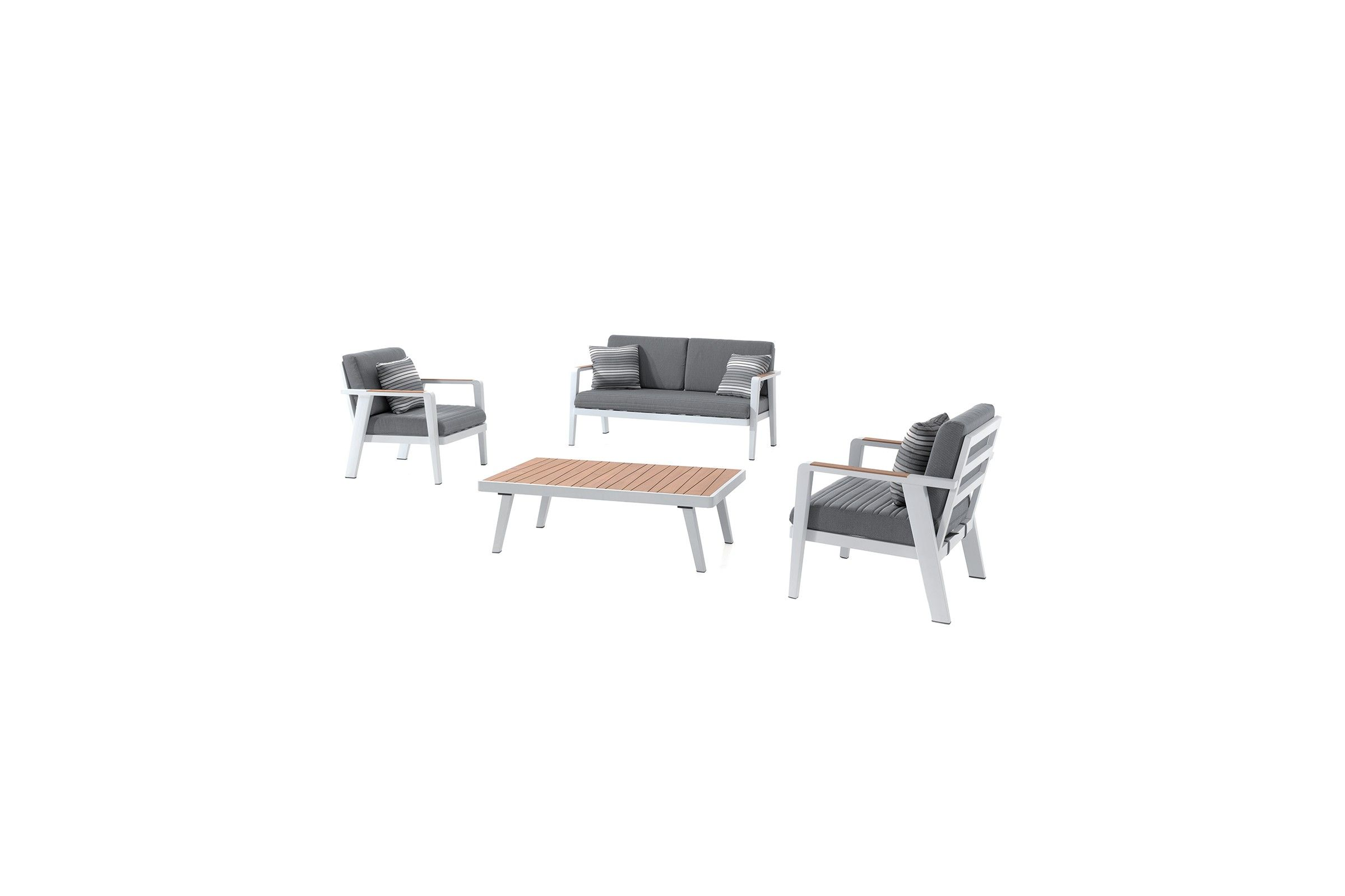 salon de jardin teck alu et coussins d perlant guadeloupe. Black Bedroom Furniture Sets. Home Design Ideas