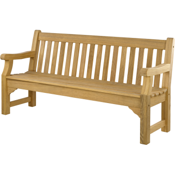 Banc de jardin en roble, 183 cm, Royal Park