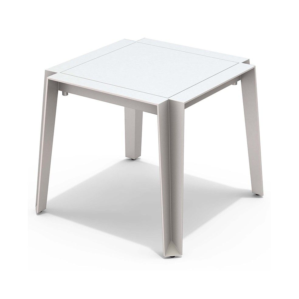 Table basse en alu