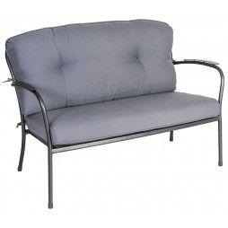 Canapé lounge pour le jardin, 128 cm, Portofino