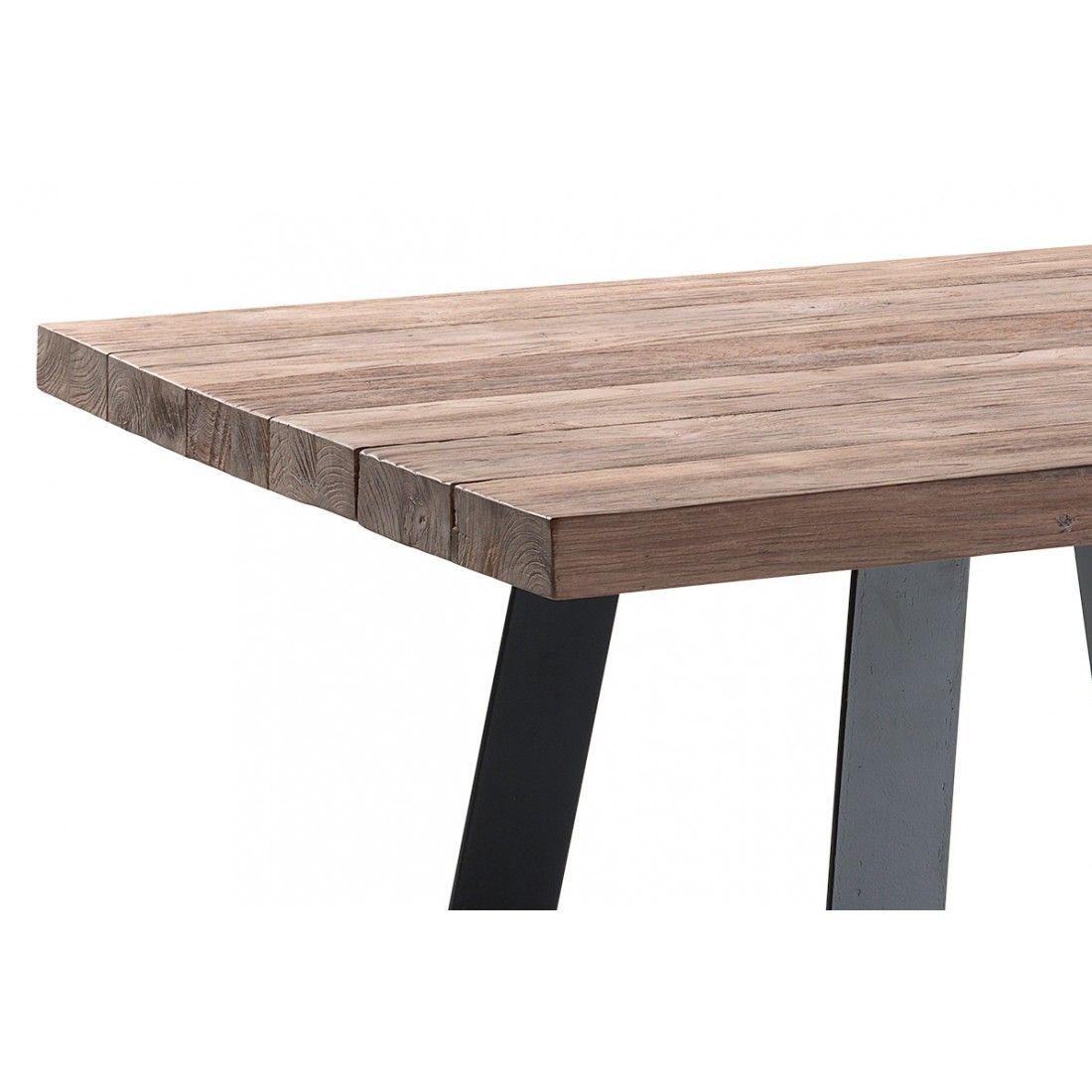 Table de jardin en teck massif 300 cm, Margo