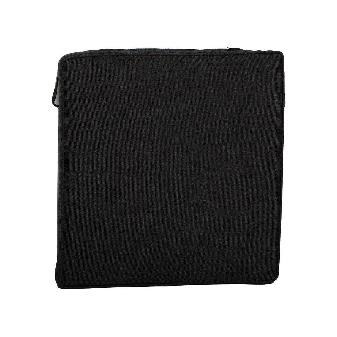 Coussin de chaise empilable 48,5 x 46,5 cm, déhoussable