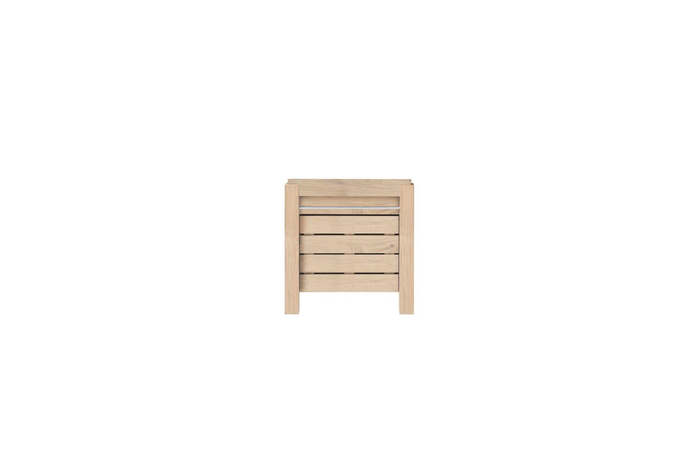 meuble vasque en ch ne massif avec une porte 65 cm la. Black Bedroom Furniture Sets. Home Design Ideas
