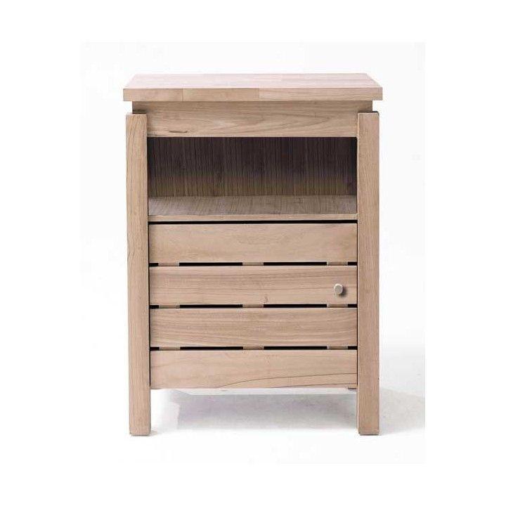 Les meubles de rangement 1 porte chêne massif
