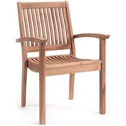 Chaise et fauteuil en teck