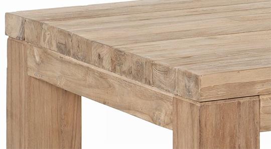 Table en teck Sika Design